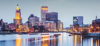 Providence Rhode Island Stock Photography