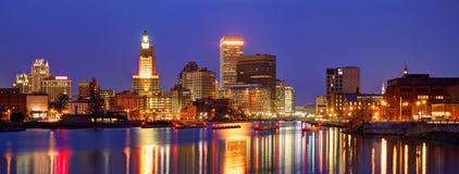 Providence, Rhode Island Skyline Images stock