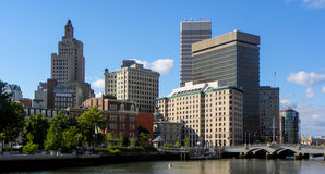 Providence, Rhode Island Skyline. Stock Photography