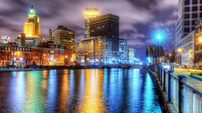 Providence, Rhode Island Royalty Free Stock Photos
