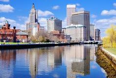 Providence, Rhode Island Skyline Royalty Free Stock Images