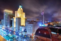Providence, Rhode Island Skyline Royalty Free Stock Photo