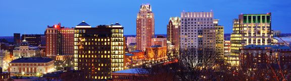 Providence, Rhode Island Skyline Stock Photos