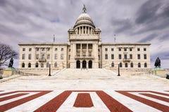 Providence Rhode Island tillståndshus Arkivbild