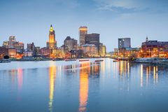 Providence, Rhode Island, USA Royalty Free Stock Photo