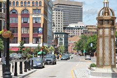 Providence, RI 免版税库存图片