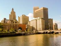 Providence, RI skyline. Royalty Free Stock Image