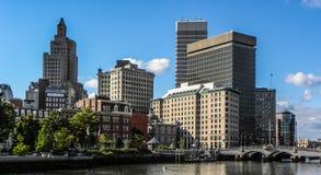 Providence, RI skyline. Royalty Free Stock Photos