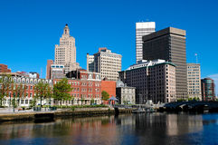 Providence, RI skyline. Royalty Free Stock Photography