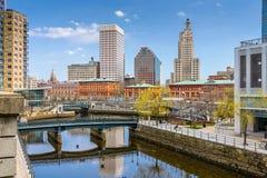 Providence-Skyline Stockbilder
