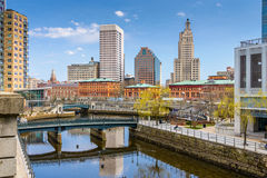 Providence Skyline Stock Images