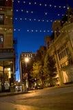Providence-Stadt-Straßen Stockbilder