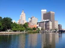 Providence-Straßenansicht Lizenzfreies Stockbild