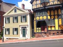 Providence-Straßenansicht Lizenzfreie Stockbilder