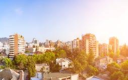 Providencia公社在圣地亚哥 免版税图库摄影