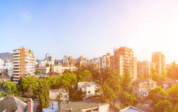 Providencia commune in Santiago Royalty Free Stock Photography