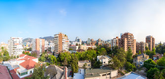 Providencia commune in Santiago Royalty Free Stock Photo