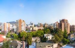 Providencia commune in Santiago Stock Photo