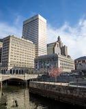 Providencia Rhode Island Imágenes de archivo libres de regalías