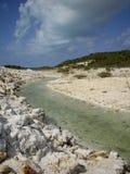 Providenciales för krita solida turker & Caicos Royaltyfria Foton