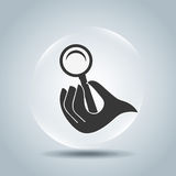 providing hands design Royalty Free Stock Image