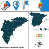 Province of Alicante, Spain Stock Photography