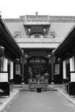 Province antique architecture Pingyao building black white Stock Photos