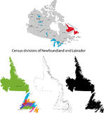 Province of Canada - Newfoundland and Labrador Royalty Free Stock Image