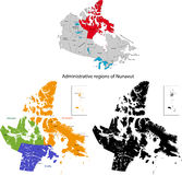 Province of Canada - Nunavut Royalty Free Stock Image