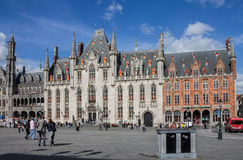 Province Court Bruges Belgium Royalty Free Stock Photos