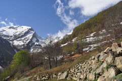 Province of Cuneo, Italy. Maritime Alps Stock Images