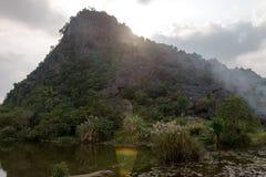 Province de Hang Mua Temple Ninh Binh, ha Noi Vietnam Dec 2018 image stock