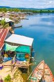 Province de kong de KOH au Royaume du Cambodge près de la frontière de la Thaïlande Images stock