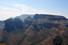 Province de l'Afrique du Sud, est, Mpumalanga Photos libres de droits