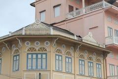 Province de Trang de construction antique à la maison en Thaïlande images libres de droits