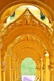Province de Wat Pasawangbun Saraburi en Thaïlande photographie stock