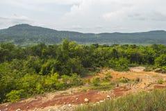 PROVINCE du KOH KONG au Cambodge Photo libre de droits