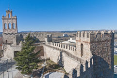 Province historical Archive at Avila, Spain Royalty Free Stock Image