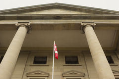 The Province House in Charlottetown in Prince Edward Island Stock Image