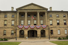 The Province House in Charlottetown in Prince Edward Island. In Canada Royalty Free Stock Photos