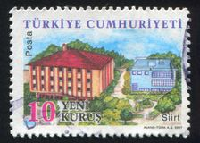 Province Siirt. TURKEY - CIRCA 2007: stamp printed by Turkey, shows province Siirt, circa 2007 royalty free stock images