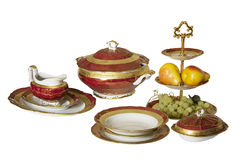 Province style tableware Stock Photos
