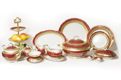 Province style tableware Royalty Free Stock Images