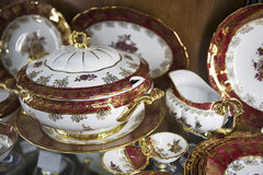 Province style tableware Stock Photo