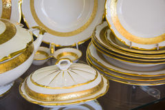 Province style tableware Stock Image