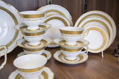 Province style tableware Royalty Free Stock Photo