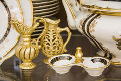 Province style tableware Royalty Free Stock Photography