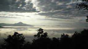 Province Thaïlande de Phu Tok Chiang Khan Loei Photos stock