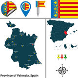 Province of Valencia, Spain Royalty Free Stock Images