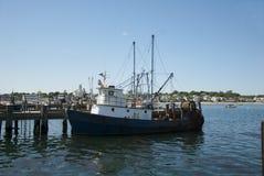 Provincetown小游艇船坞,马萨诸塞 免版税图库摄影
